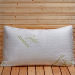 2 Pack Ultimate Queen or King Bamboo Memory Foam Pillows- $50 with Free Shipping